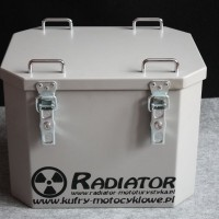 Aluminiowe  kufry Radiator