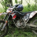 Motocykle w lasach