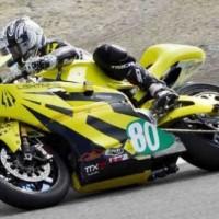 Baterie w najszybszym motocyklu