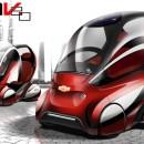 Pojazd elektryczny – Chevrolet EN-V 2.0 / GM