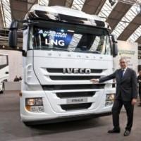 Iveco zasilany płynnym gazem ziemnym – LNG